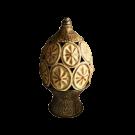 Decorative Pillar Design Pottery Vase - Large