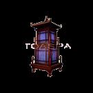 Purple Chinese Tower Decorative Lamp