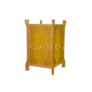 Yellow Small Box Decorative Lamp