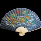 Chinese Decorative Folding Fan- Fire Dragon
