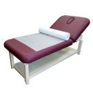 """69.5""""x30"""" 50 Sheet-1 Roll 6 Roll Case Disposable White Non-Woven Paper Exam Table Bed Cover Free Shipping"""
