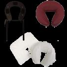 Face Rest Cradle Brace Cushion Disposable Cover 3pc Set