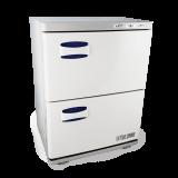 TOA UV Light Sterilizer Hot Towel Warmer Cabinet w/Tray 2 in 1 (46S)