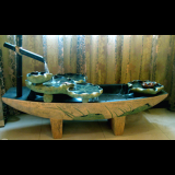 Indoor Outdoor Tabletop Garden Waterfall Fountain- Big Cross