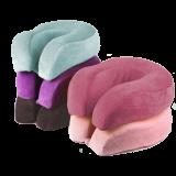 XL Memory Foam U-Shape Face Rest Pillow Travel Cushion- Head Support